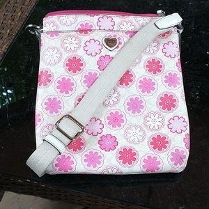 COACH 🐎 Cute Pink Hearts Crossbody Bag